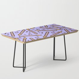 Celebration Candles Pattern Coffee Table