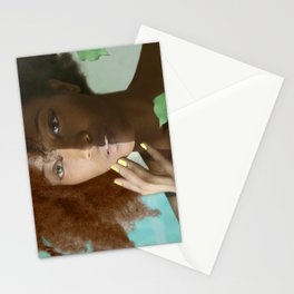 Don't Tell Her She's Pretty For A Darkskin Girl  Stationery Cards