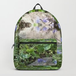 Green Reflected Backpack