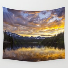 Mile High Sunset Wall Tapestry