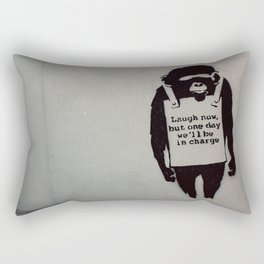 Banksy  Rectangular Pillow