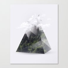 Forest triangle Canvas Print