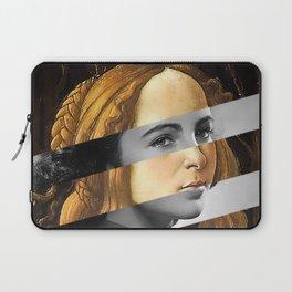 "Sandro Bottiecelli's Venus from ""Venus and Mars"" & Liz Taylor Laptop Sleeve"