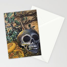 Time Is Money Stationery Cards
