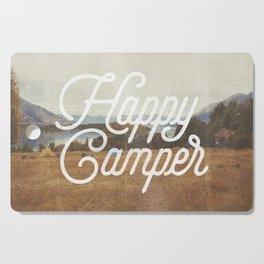 HAPPY CAMPER Cutting Board