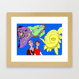 A Lover's kind of a Day            by Kay Lipton Framed Art Print