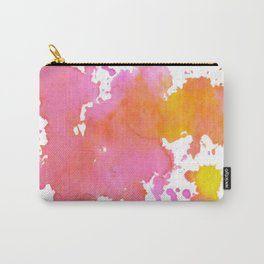 Abstract Watercolor Splatter Carry-All Pouch