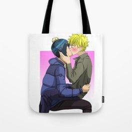 Creek kiss Tote Bag