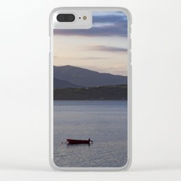Scotish Sun Getting Ready to Set Clear iPhone Case