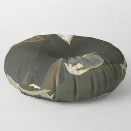 Asahel Powers - Possibly William Sheldon Floor Pillow