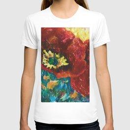 Three Poppies by Lena Owens @OLena Art #Society6 T-shirt