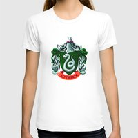 slytherin T-shirts featuring SLYTHERIN  by Smart Friend