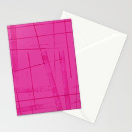A hot pink mess Stationery Cards