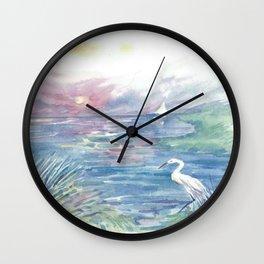 Intracoastal Wall Clock