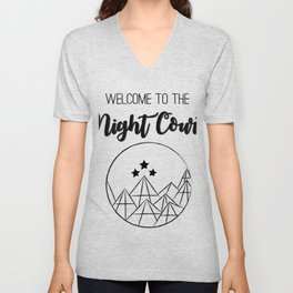 Welcome to the Night Court | Acomaf Unisex V-Neck