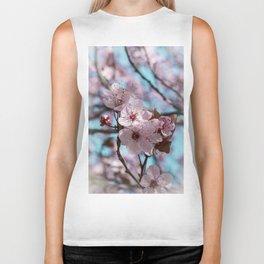 Sakura.Cherry Blossom Biker Tank
