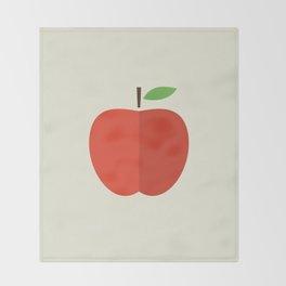 Apple 17 Throw Blanket