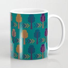 Trees and arrows Coffee Mug