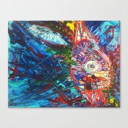 """..Flutter.."" Canvas Print"