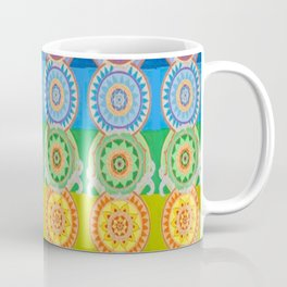 SEVEN CHAKRA SYMBOLS OF HEALING ART Coffee Mug