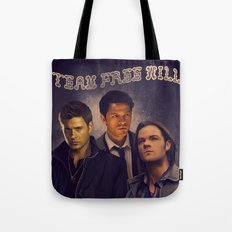Team Free Will - Supernatural Tote Bag