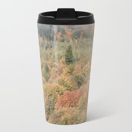 Foggy Autumn Morning Travel Mug
