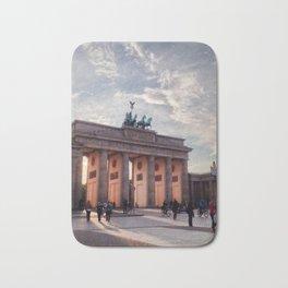 Brandenburg Gate in the Evening Bath Mat