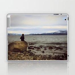 Looking at the lake Laptop & iPad Skin