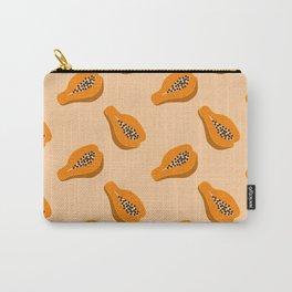 Papaya pattern Carry-All Pouch