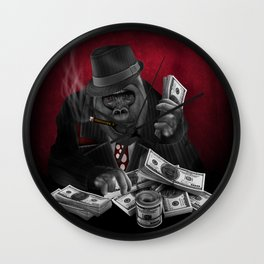 MOB of the apes iPhone 4 4s 5 5c 6 7, pillow case, mugs and tshirt Wall Clock