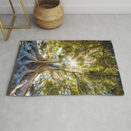 Tree Paradise (Color) Rug