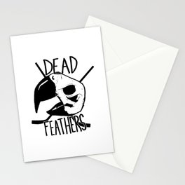 DEAD FEATHERS CREST Stationery Cards