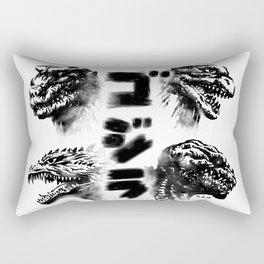 Waterbushed Four Kings Rectangular Pillow