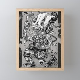 Dickhead Framed Mini Art Print