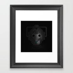 Delete Framed Art Print