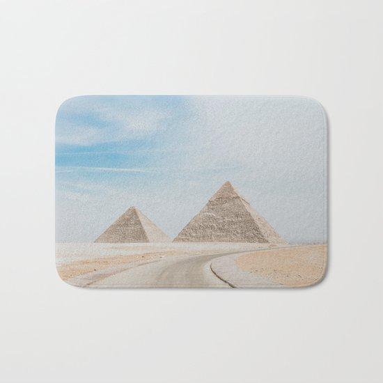 Pyramids of Giza X Bath Mat