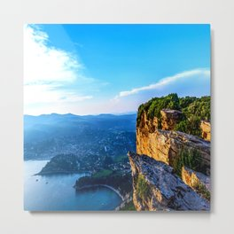 A View To Everything French Riviera Metal Print