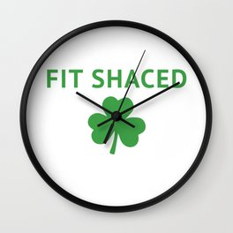 FIT SHACED Wall Clock
