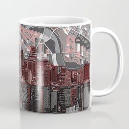minneapolis city skyline Coffee Mug