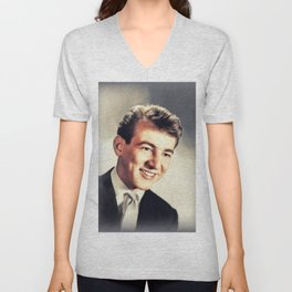 Bobby Darin, Music Legend Unisex V-Neck
