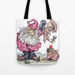 Santanist and Fungish Tote Bag