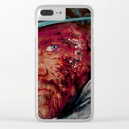 Wounded Cowboy Clear iPhone Case