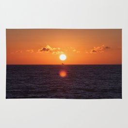between suns and over  the oceans Rug