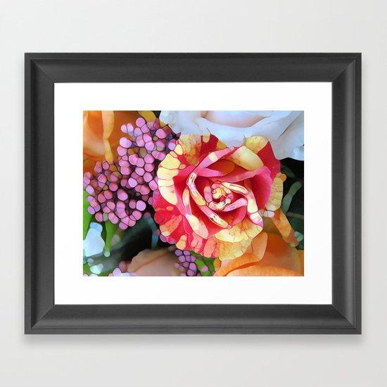 Hocus Pocus Rose Framed Art Print