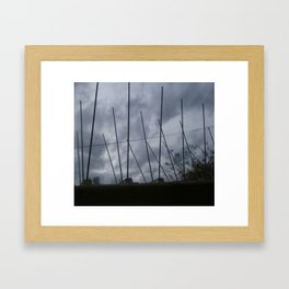 Spiked  Framed Art Print