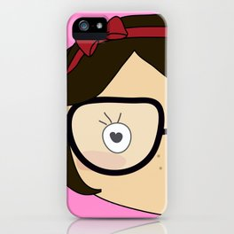 twins in happiness iPhone Case