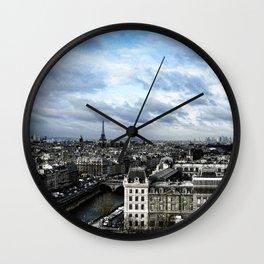 Vue de Notre Dame - Paris Wall Clock