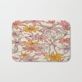 Pretty Floral Bath Mat