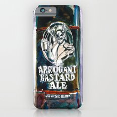STONE ARROGANT BASTARD Beer Art Print - California Beer Art - Bar Room Slim Case iPhone 6s