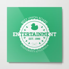 Reitz Union Board Entertainment at the University of Florida v. Mint Metal Print